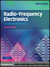 Radio-Frequency Electronics (eBook): Principles and Parameterizations