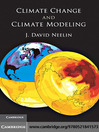 Climate Change and Climate Modeling (eBook)