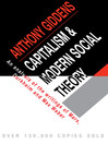 Capitalism and Modern Social Theory (eBook)