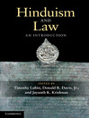 Hinduism and Law (eBook)