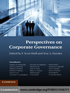 Perspectives on Corporate Governance (eBook)