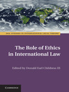 The Role of Ethics in International Law (eBook)