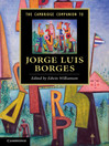 The Cambridge Companion to Jorge Luis Borges (eBook)