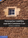 Enterprise Liability and the Common Law (eBook)
