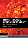 Quantitative Risk Assessment (eBook): The Scientific Platform