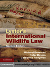Lyster's International Wildlife Law (eBook)