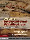 Lyster's International Wildlife Law (eBook)