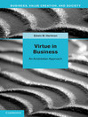 Virtue in Business (eBook)