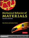 Mechanical Behavior of Materials (eBook)