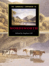 The Cambridge Companion to Wordsworth (eBook)