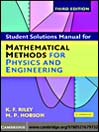 Student Solution Manual for Mathematical Methods for Physics and Engineering (eBook)