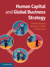 Human Capital and Global Business Strategy (eBook)