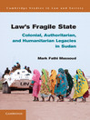 Law's Fragile State  1 by Mark Fathi Massoud eBook