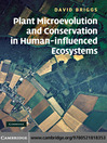 Plant Microevolution and Conservation in Human-influenced Ecosystems (eBook)