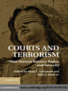 Courts and Terrorism (eBook): Nine Nations Balance Rights and Security