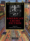 The Cambridge Companion to American Crime Fiction (eBook)