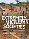 Extremely Violent Societies (eBook)