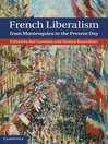 French Liberalism from Montesquieu to the Present Day (eBook)