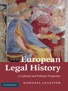 European Legal History (eBook)