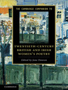 The Cambridge Companion to Twentieth-Century British and Irish Women's Poetry (eBook)