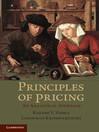 Principles of Pricing (eBook)