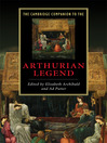 The Cambridge Companion to the Arthurian Legend (eBook)