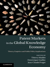 Patent Markets in the Global Knowledge Economy (eBook): Theory, Empirics and Public Policy Implications