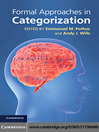 Formal Approaches in Categorization (eBook)