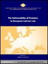 The Enforceability of Promises in European Contract Law eBook