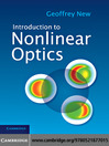 Introduction to Nonlinear Optics (eBook)