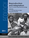 Reproduction and Adaptation (eBook): Topics in Human Reproductive Ecology