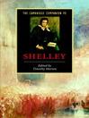 The Cambridge Companion to Shelley (eBook)