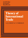 Theory of International Trade (eBook): A Dual, General Equilibrium Approach