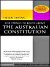 Five Things to Know About the Australian Constitution (eBook)