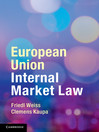 European Union Internal Market Law (eBook)