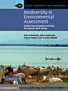 Biodiversity in Environmental Assessment (eBook): Enhancing Ecosystem Services for Human Well-Being