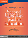 Cambridge Guide to Second Language Teacher Education (eBook)