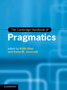 The Cambridge Handbook of Pragmatics (eBook)