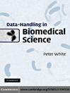 Data-Handling in Biomedical Science (eBook)