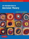 An Introduction to Decision Theory (eBook)