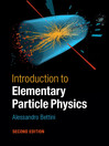 Introduction to Elementary Particle Physics (eBook)