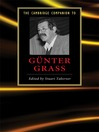 The Cambridge Companion to Gunter Grass (eBook)