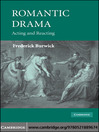 Romantic Drama (eBook): Acting and Reacting