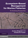 Ecosystem Based Management for Marine Fisheries (eBook): An Evolving Perspective