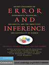 Error and Inference (eBook)