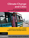 Climate Change and Cities (eBook)