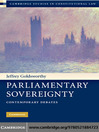 Parliamentary Sovereignty (eBook)