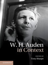 W. H. Auden in Context (eBook)