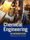 Chemical Engineering (eBook): An Introduction