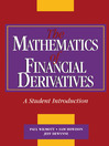 The Mathematics of Financial Derivatives (eBook)